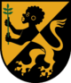 Coat of arms of Abfaltersbach, a small town in the southern Austrian alps. Holding the Olive branch symbolizes peace, a direct contradiction to false legends that Moors were only heads of captives or enemies. Combining the head with a lion's body can be traced to the Sphinxes of Egypt and the Nubian lion god of Dedun. It's worth mentioning that the lion's body is depicted in a similar manner to those found on the coats of arms of European royalty as well as the government of Morocco.
