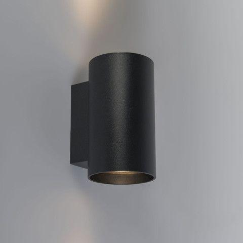 Wandlamp Sandy rond zwart - Keukenverlichting - Verlichting per ...