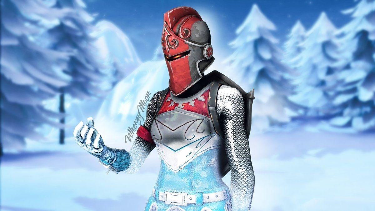 Ruby Skin Fortnite 3d Thumbnail Fortnite Frozen Red Knight Thumbnail In 2020 Red Knight Fortnite Red Knight Knight