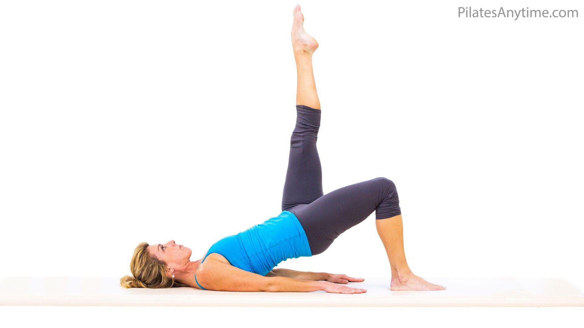 Shoulder Bridge | Pilates videos, Pilates programs, Exercise