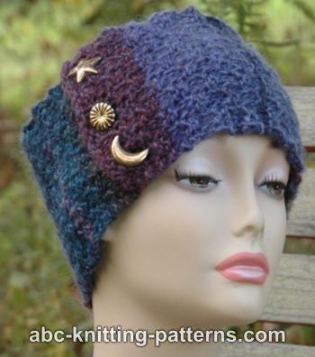 Easyknitheadbandfreepattern Abc Knitting Patterns Star And