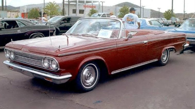 Original Owner 1964 Dodge Custom 880 Convertible