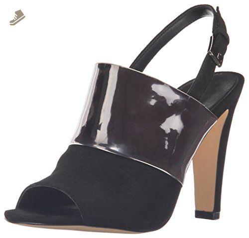 Nine West Women S Adaline Patent Dress Pump Black Silver 7 M Us Nine West Pumps For Women Amazon Par Black High Heel Sandals Pumps Black High Heels Shoes