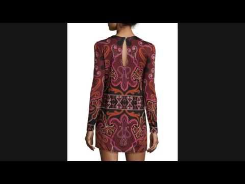 Buy Rachel Zoe Magnus Paisley Silk-Jersey Minidress