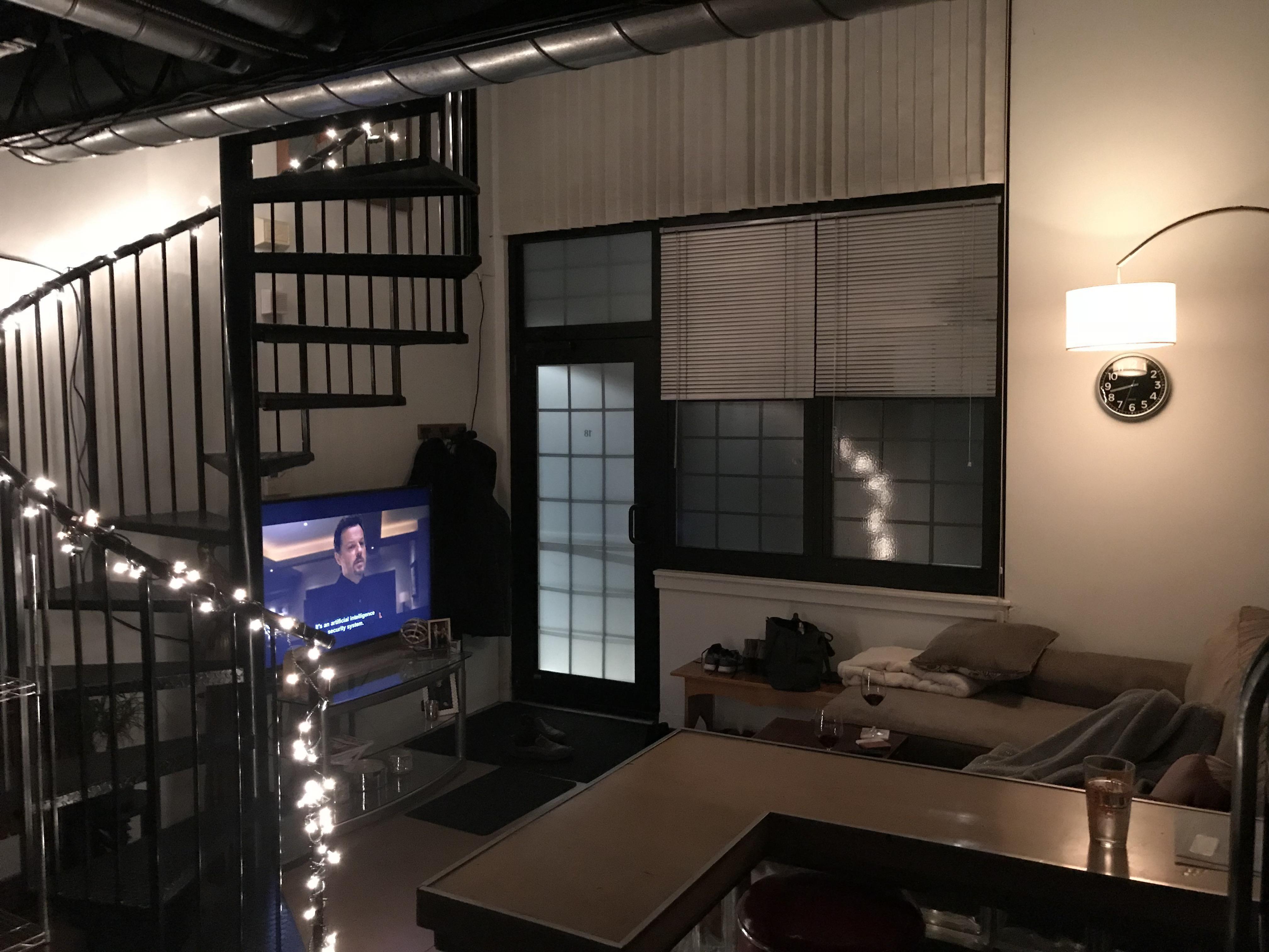 Wine & TV in my cozy loft apartment http://ift.tt/2CQtZBT ...