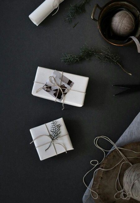 Simple, stylish gift-wrapping