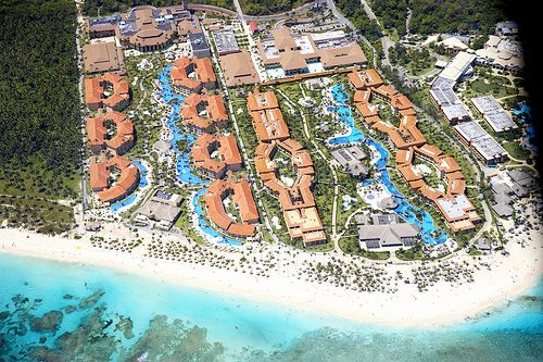 The All Inclusive Majestic Colonial Punta Cana HotelResort Aerial