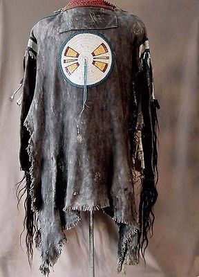 8cda0feb QUILLED ASSINIB...   War Shirts   American indian crafts, Native ...