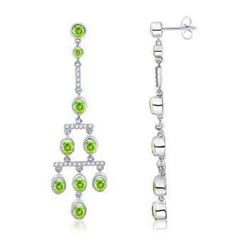 Peridot chandelier earrings wedding looks pinterest peridot peridot chandelier earrings mozeypictures Choice Image