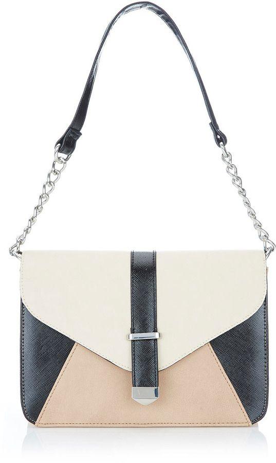 e84a5602b76999 Wallis Stone Colour Block Shoulder Bag on shopstyle.co.uk   Things ...