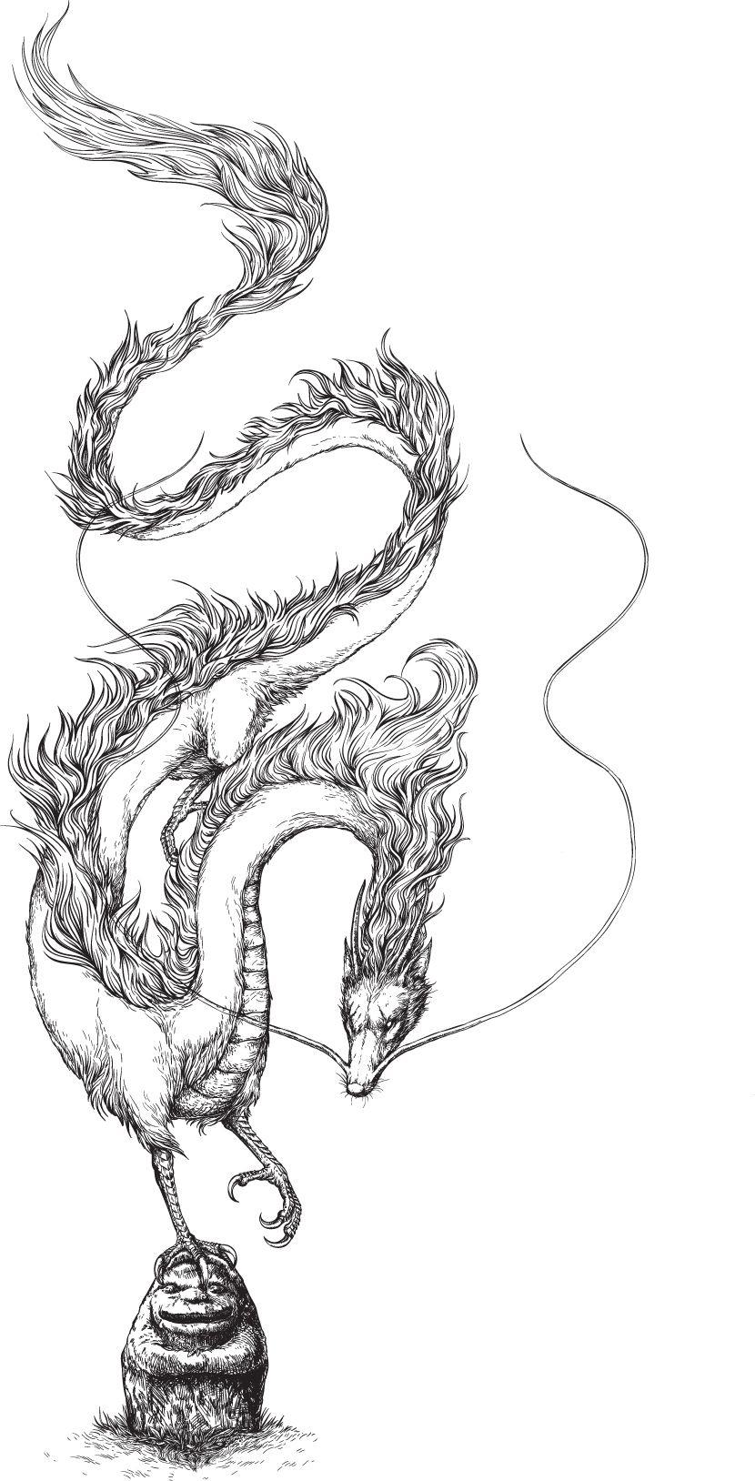 Tribute To Ghibli Spirited Away On Behance If I Ever Got A Dragon Tattoo It D Be Haku Studio Ghibli Tattoo Ghibli Tattoo Dragon Tattoo Foot
