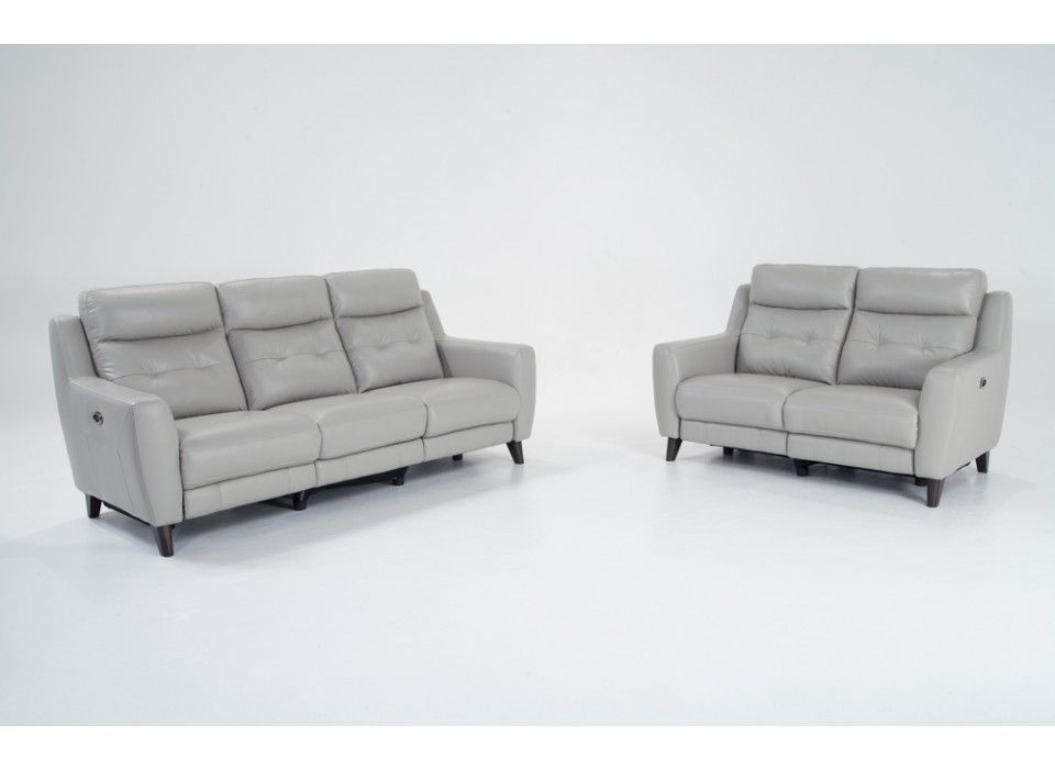 Stratus Leather Power Reclining Sofa Amp Power Reclining