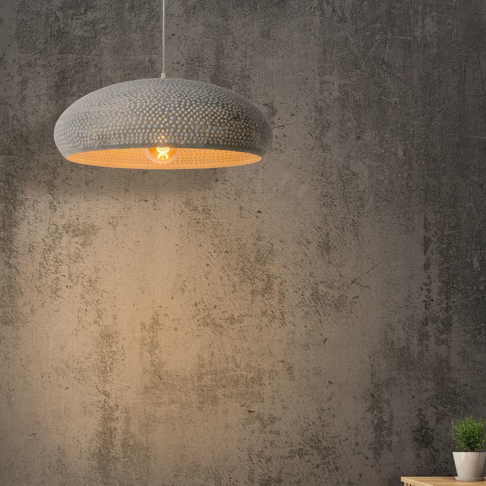 Pendelleuchte Colando In Grau E27 Lucide 76463 53 36 Pendelleuchte Wohnzimmer Leuchte Beleuchtung Decke