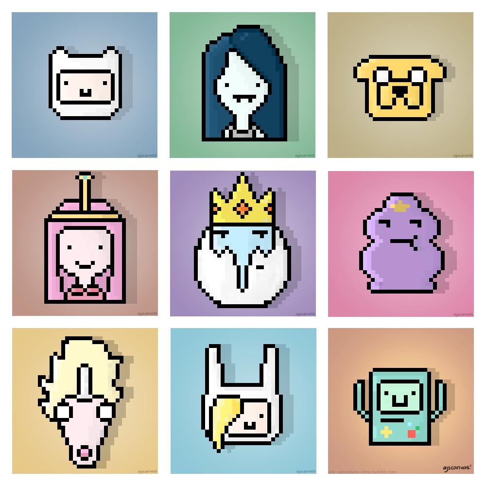 Marceline Adventure Time Pixel Art Grid Www Topsimages Com