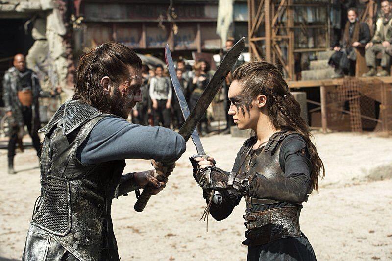 Lexa vs roan still season 3 episode 4 | The 100 in 2019