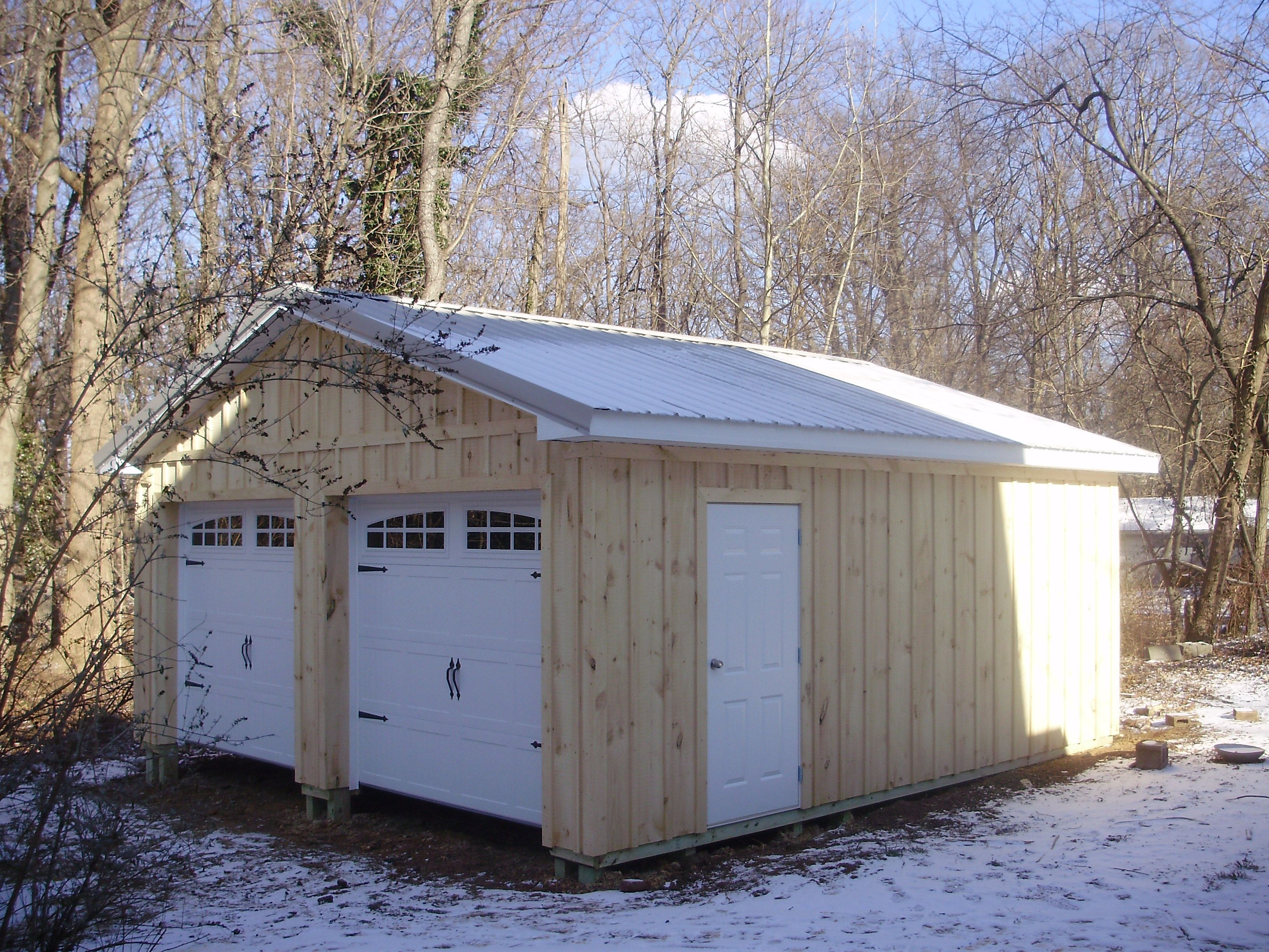 30 W X 36 L X 10 4 H Id 469 Total Cost 16 806 Pole Buildings Pole Building Garage Roof Styles