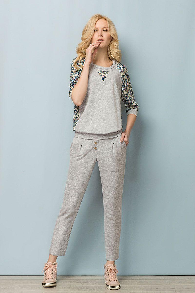 ec31149d69a3 Купить женский спортивный костюм и брюки больших размеров ...