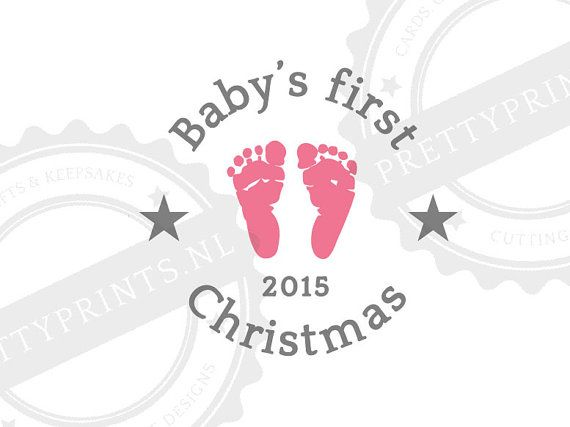 baby u0026 39 s first christmas svg cutting file for by prettyprintsnl