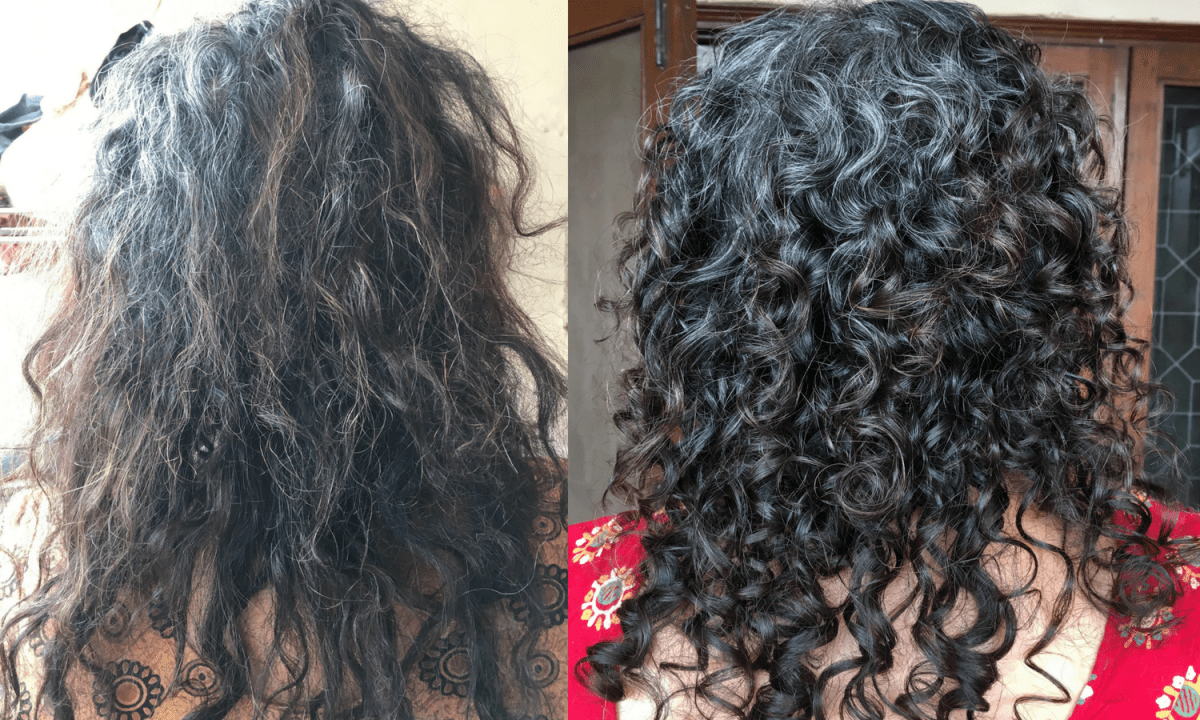 Say Goodbye To Your Dry Frizzy Curly Hair 12 Easy Hacks Tips Dry Curly Hair Dry Frizzy Hair Frizzy Curly Hair