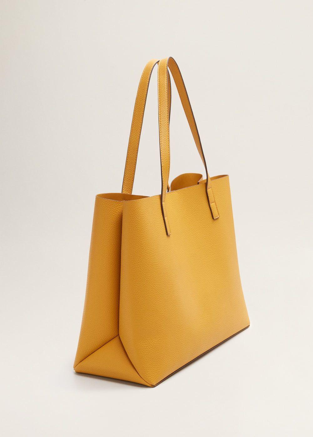 1b321e95a76 Pebbled effect shopper bag women – Artofit