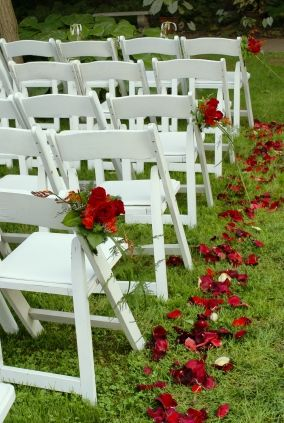Matrimonio In Bianco E Rosso