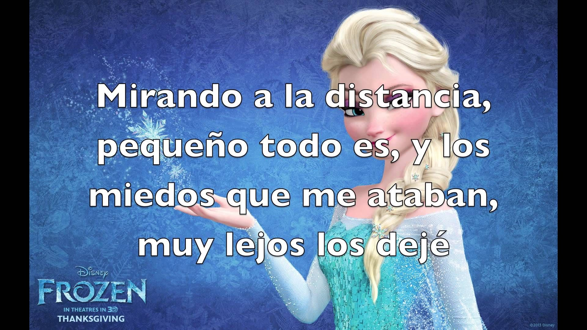 Video Libre Soy Frozen