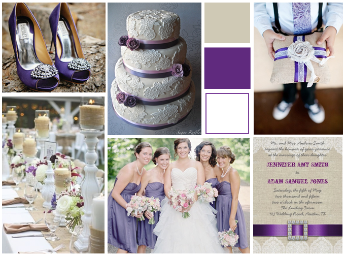 Have you seen the most recent trend of burlap and lace in wedding themes? It has been featured in many popular wedding magazines and websites as the hottest thing for this coming wedding season. design by Elke Clarke© for Monogramgallery.ca or on  (zazzle.com/monogramgallery*)