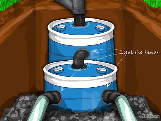 Construct a small septic system septic system free and for How to build a septic tank