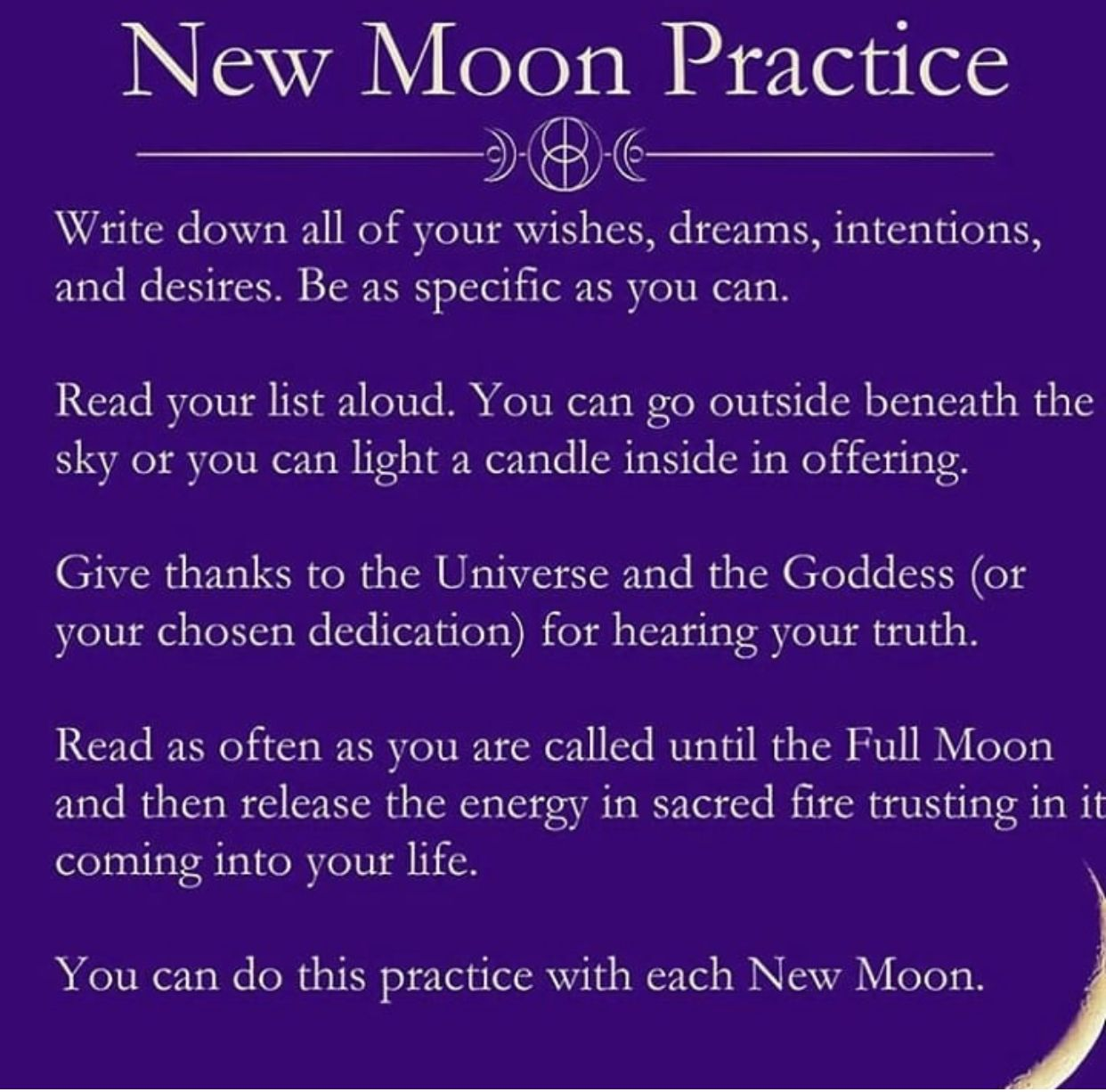 Dreams #newmoonritual