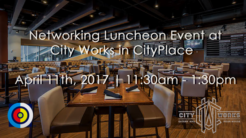 City Works and the Doral Chamber of Commerce invite you to the DCC Business Networking Luncheon Event at City Works CityPlace Doral Join us for lunch from 11:30AM - 1:30PM, while networking with dozens of professionals!