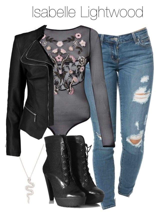 Isabelle Lightwood - Shadowhunters by shadyannon on Polyvore featuring  polyvore fashion style Boohoo Miss Selfridge Pour