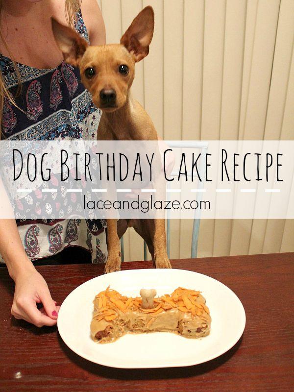 Dog Birthday Cake Recipe Dog birthday Birthday cakes and Dog