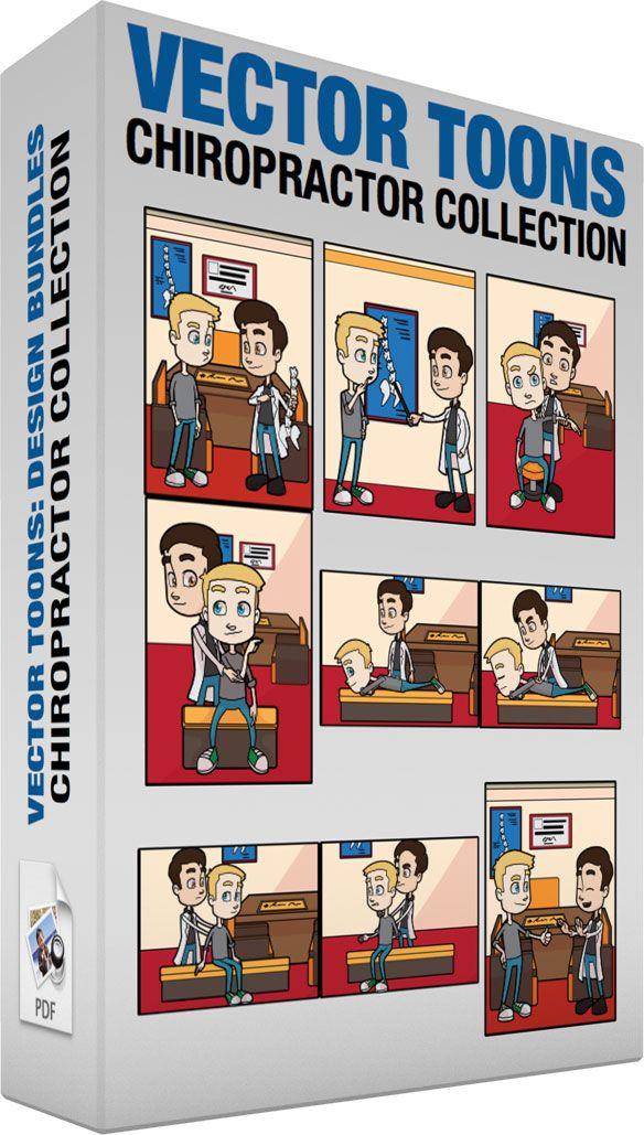 b62d2b25ee Chiropractor Collection #cartoon #clipart #vector #vectortoons #stockimage  #stockart #art