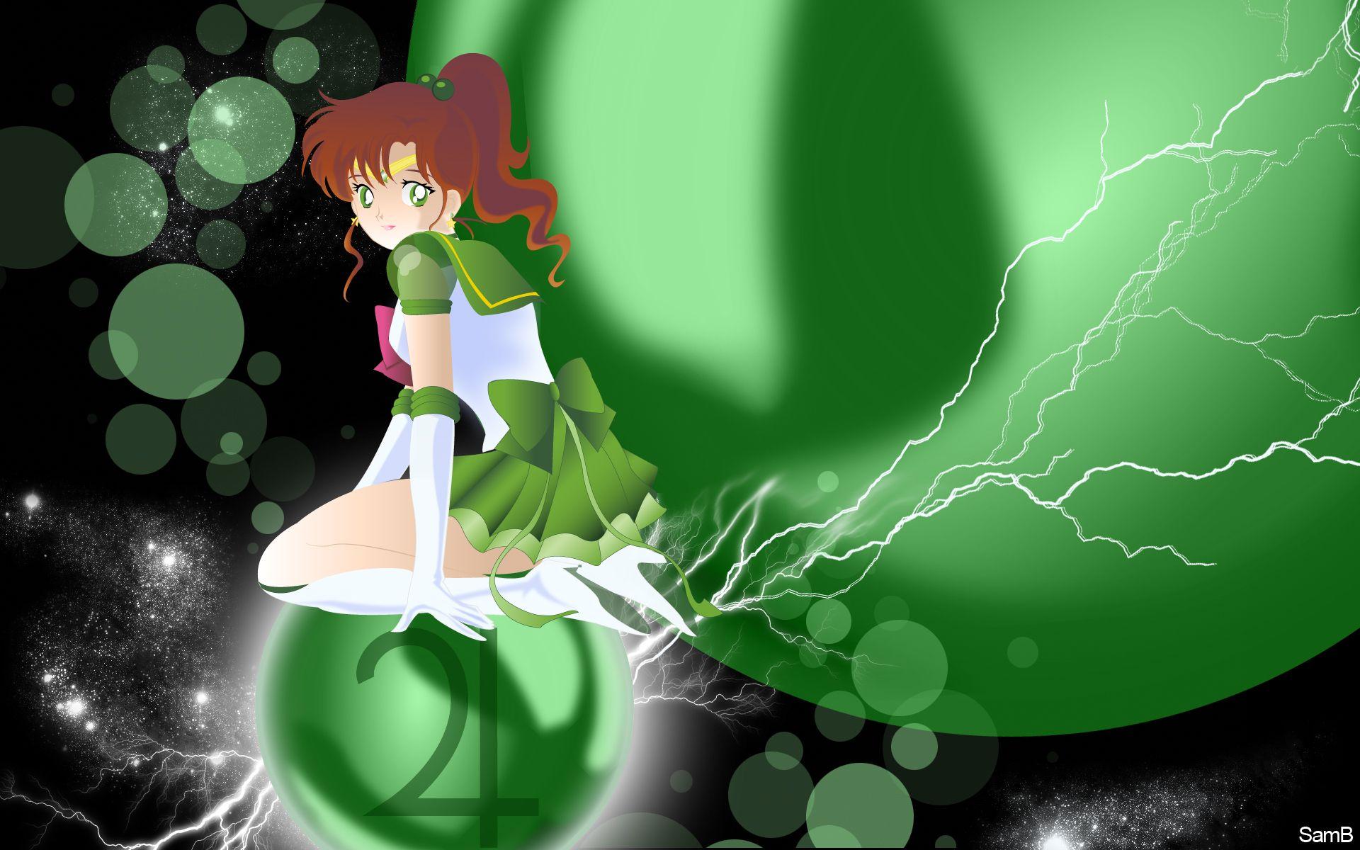 Sailor Jupiter Thunder Power Vector Art Tech Sailor Jupiter Sailor Moon Sailor Moon Stars