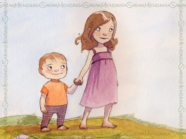 Children S Book Illustration Watercolor Illustration Children