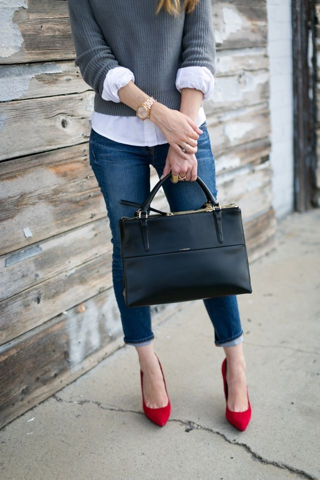 Abbigliamento da lavoro: jeans da donna per il lavoro d'ufficio – moda femminile