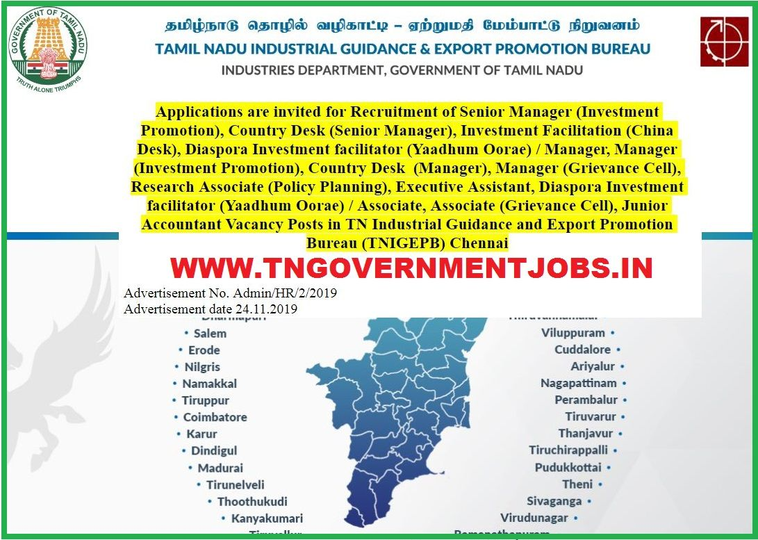 TN Industrial Guidance and Export Promotion Bureau