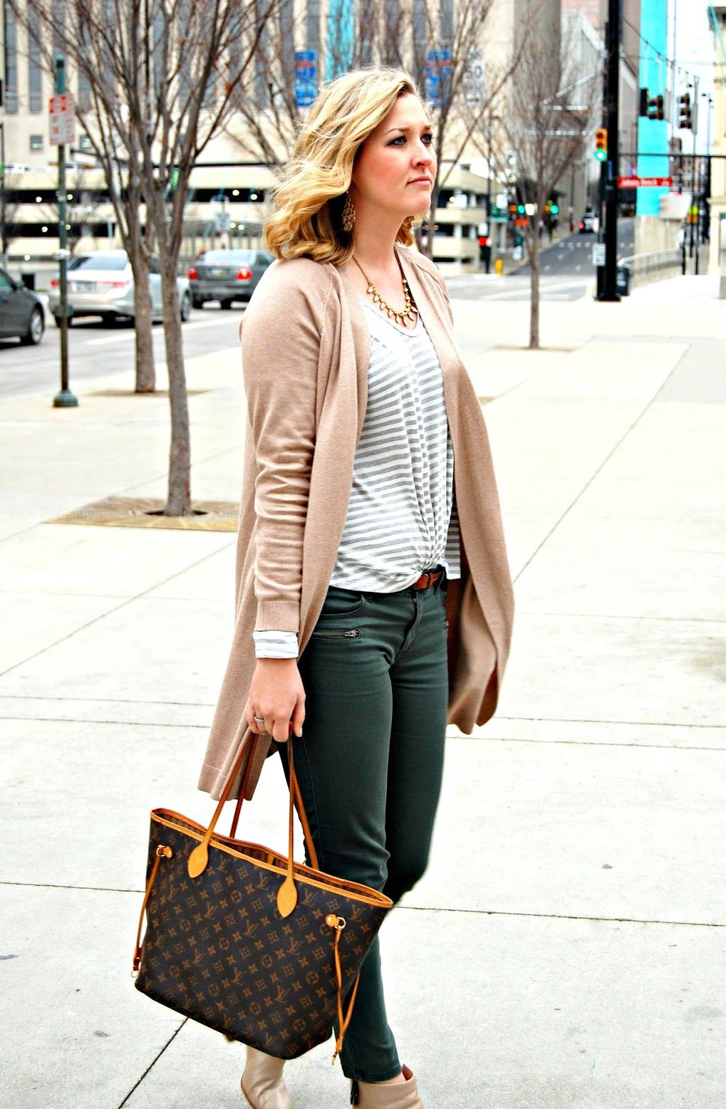 Casual Cute - Long Cardigan Duster Trend (The Professional Prep ...