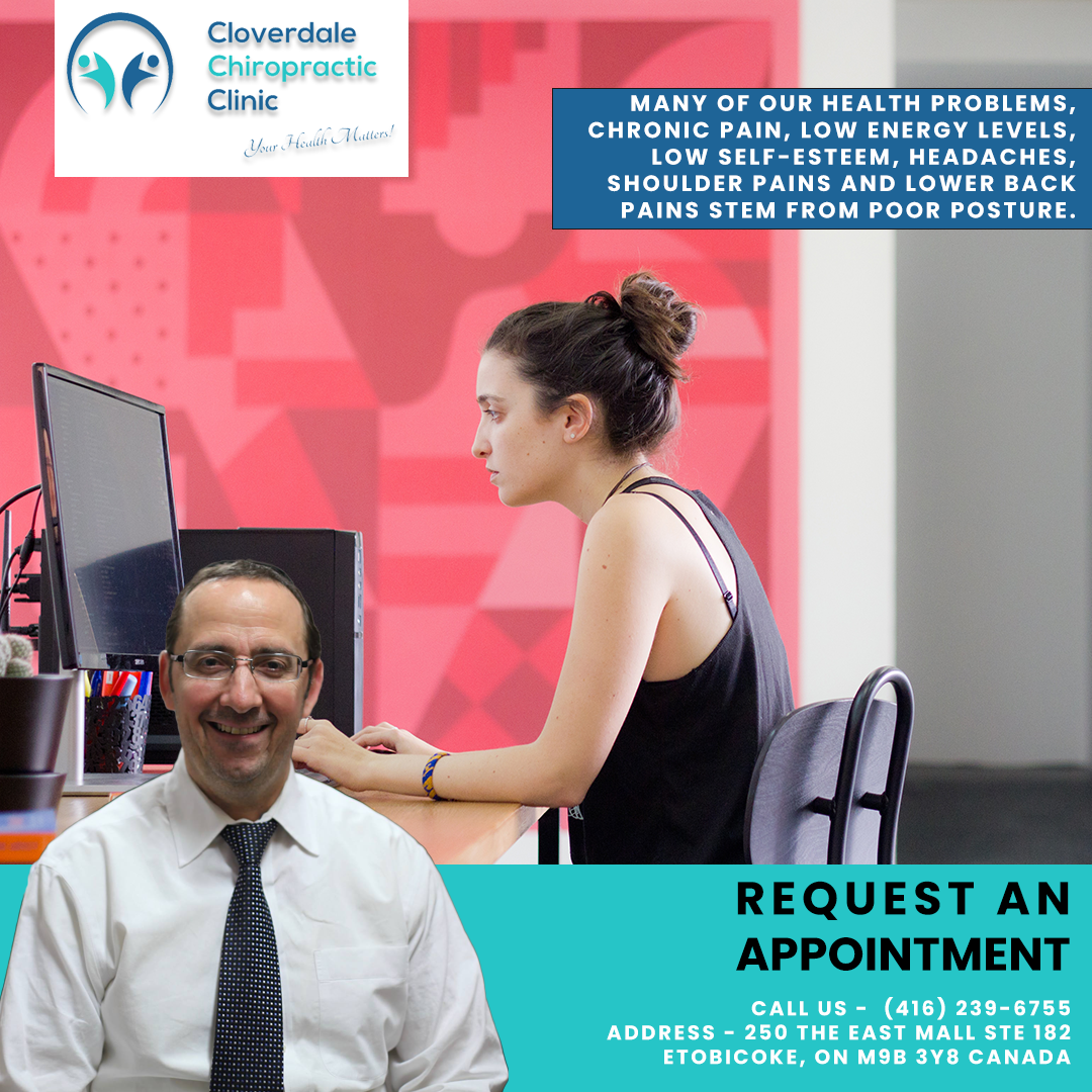 Posture correction chiropractic request an appointment