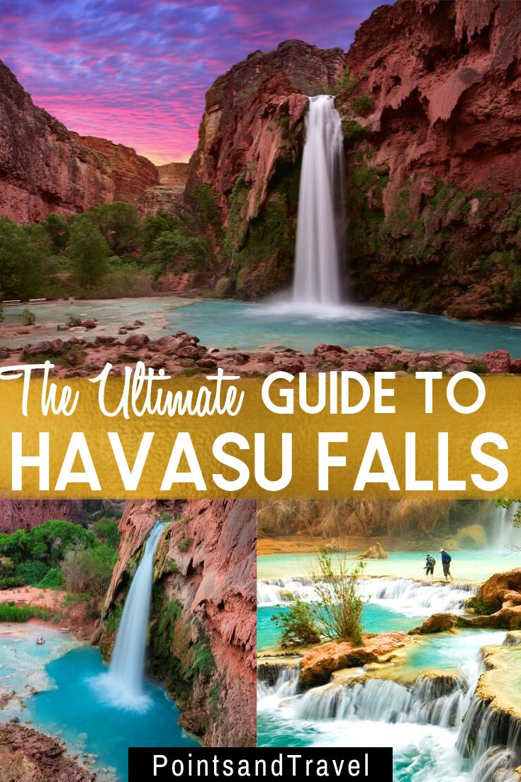 The Ultimate Guide To Havasu Falls In 2020 Cool Places To Visit Havasu Falls Arizona Travel