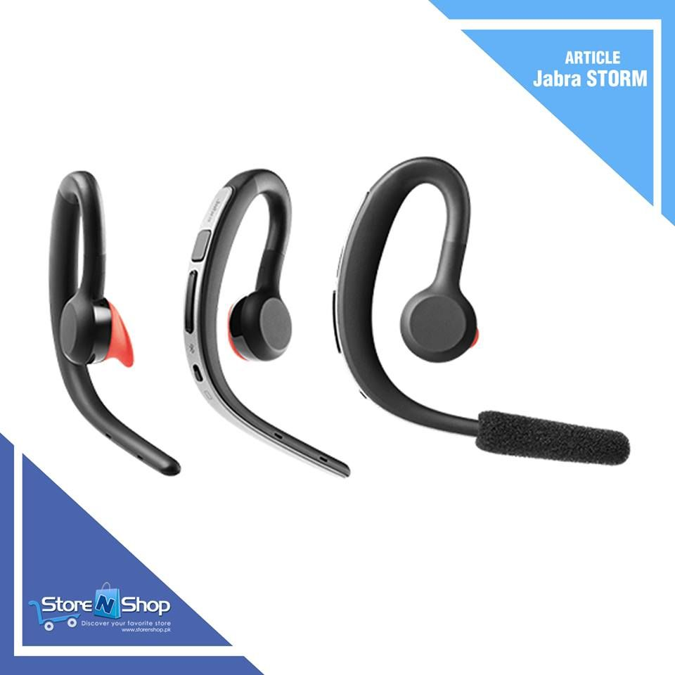 Jabra Storm Multi Device Stereo Bluetooth Headset Wind Noise Blackout Reduces Wind Noise From Your Calls Online Shopping Stores Stuff To Buy Buy Electronics