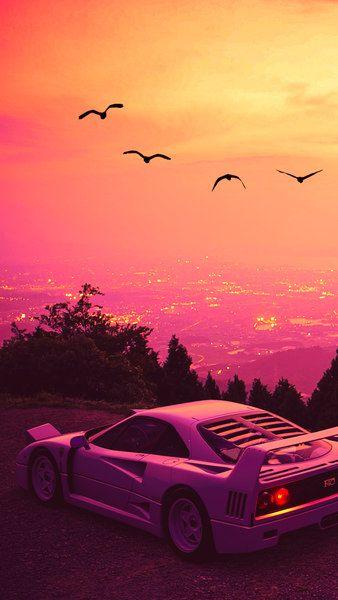 Ferrari F40 City Scenery Digital Art 4k Click Image For Hd