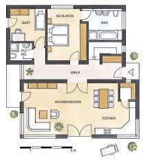 Hauspläne bungalow  Bildergebnis für bungalow grundriss | Hauspläne | Pinterest ...