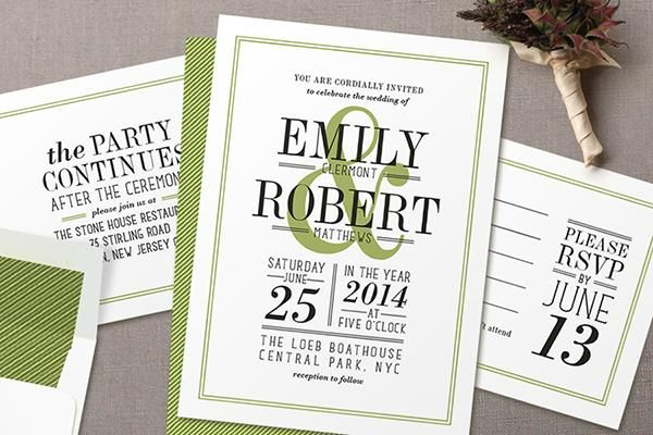 Stylish Wedding Invitations Win A 1500 Credit From Minted I