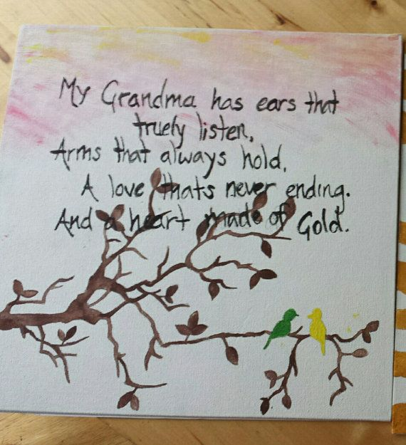 In memory of my wonderful GRANDMOTHER, with help from the Free Bird Team. by Ginger Duckett on Etsy