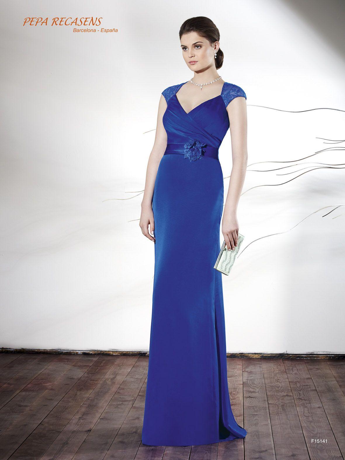 Vestido de fiesta Pepa Recasens modelo F15141