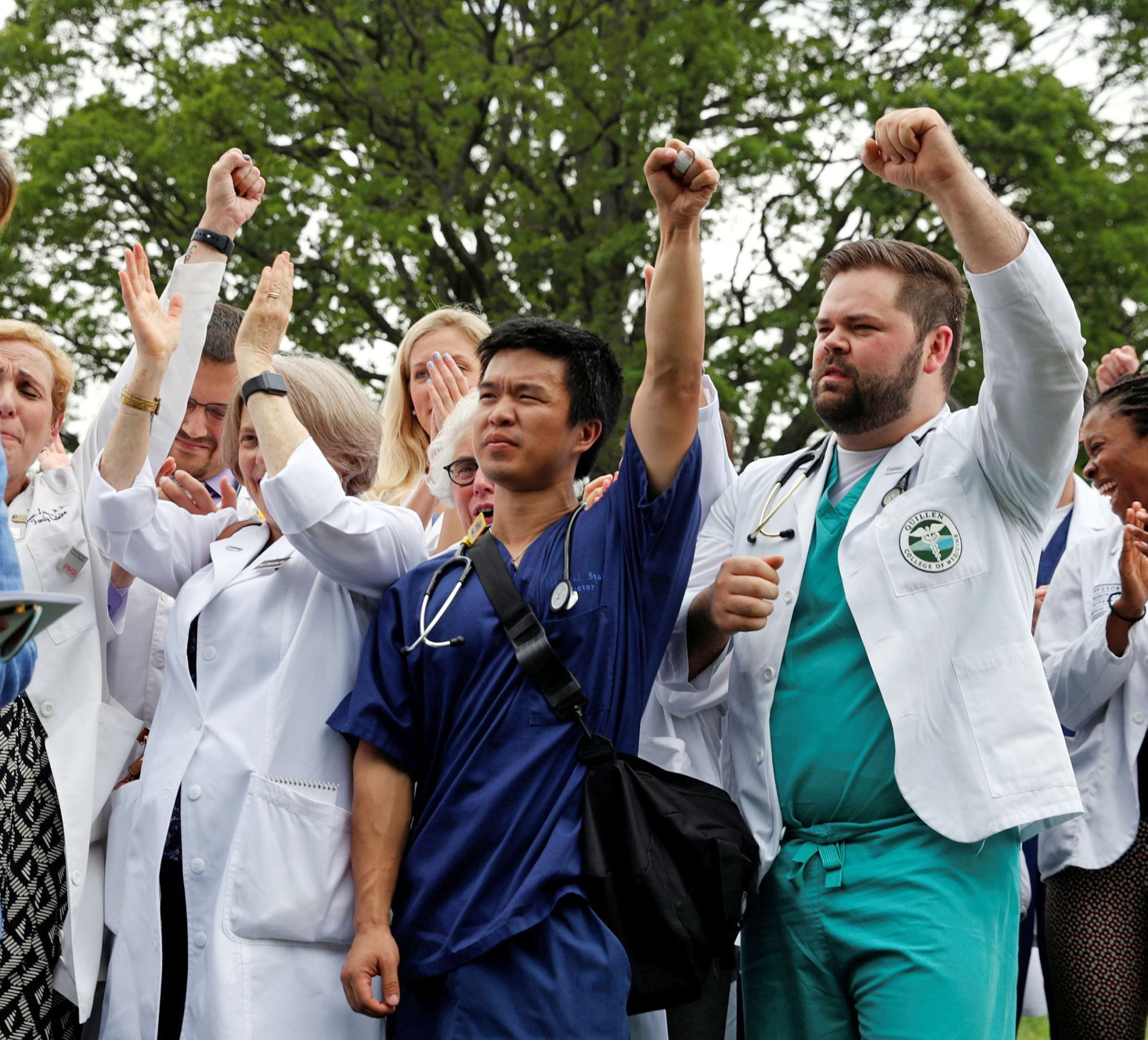 Mainstream medical groups, from oncologists to