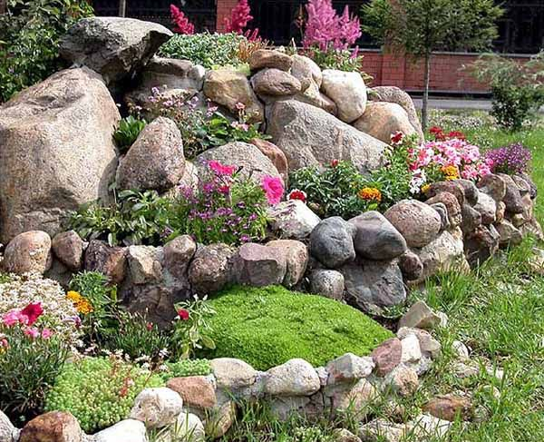 Rock Garden Design Tips, 15 Rocks Garden Landscape Ideas Part 35