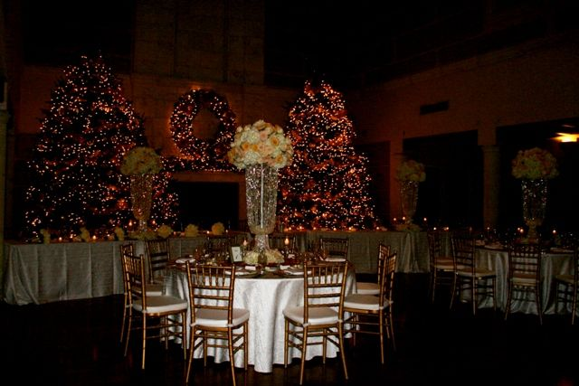 White Christmas Wedding Isleworth Golf And Country Club
