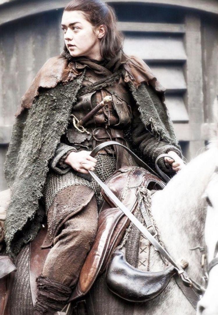 Arya Stark Juego De Tronos Cancion De Hielo Y Fuego Game Of